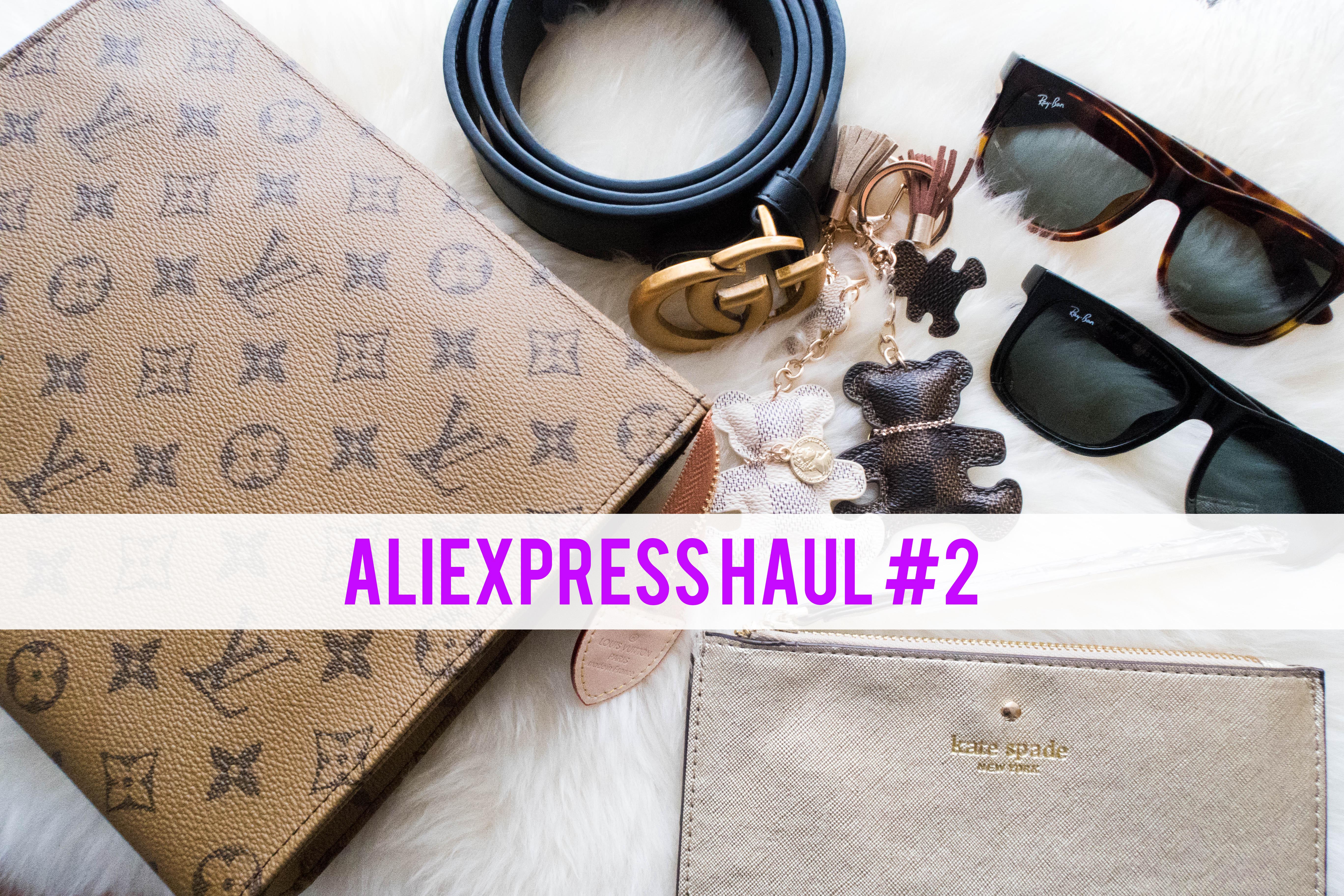 f3a33fd58b3a 🕶Aliexpress Haul #2 – LV, Raybans, Kate Spade, Gucci 🕶 – Luscious ...