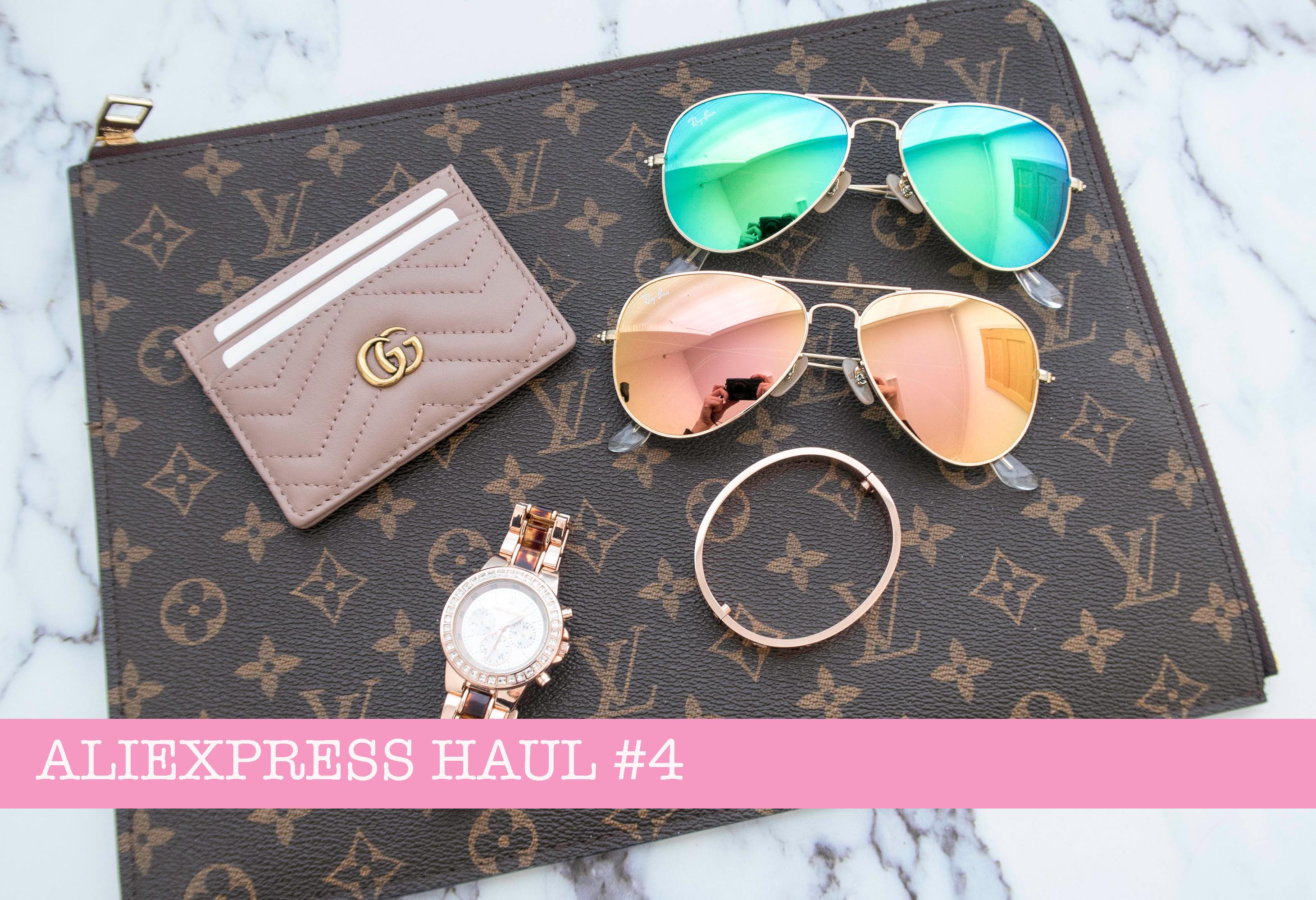 ccd1b54d7a13a9 🕶 Aliexpress Haul #4 – Rayban, LV, Gucci, MK 🕶 – Luscious Trends